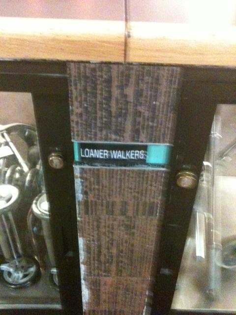 Loaner Walkers